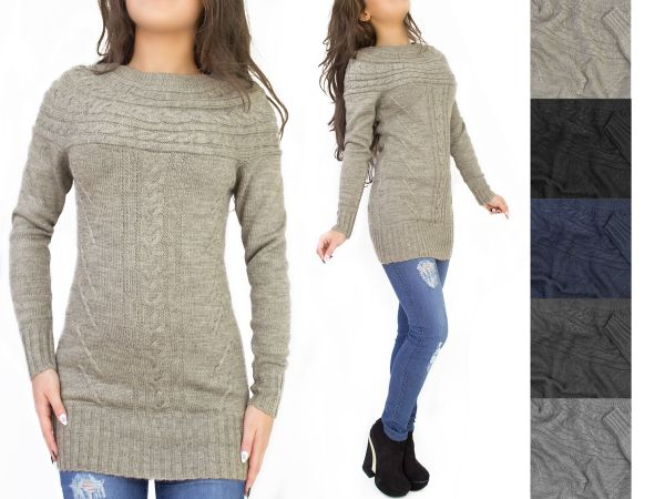 WARM SWEATER-TUNIC