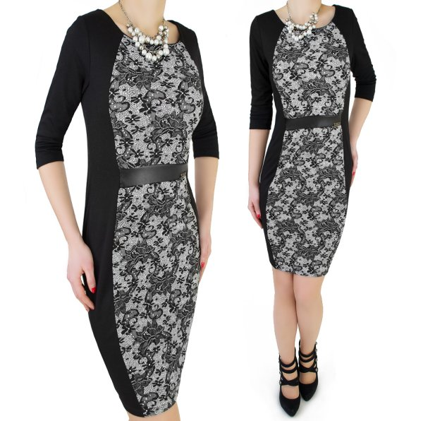 Slimming DRESS,<br>LARGE SIZES