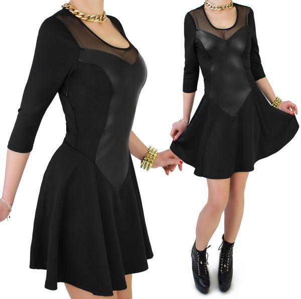 Reizvolles Kleid,<br> Tüll Ausschnitt<br>Herzen