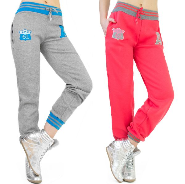 LADIES PANTS ON<br>FITNESS, COTTON