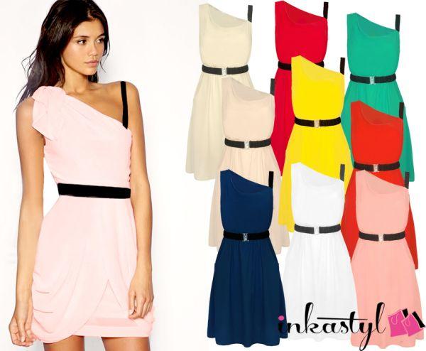 MODERNE DRESS BELT<br> ASYMERTYCZNA<br>GRATIS MIX