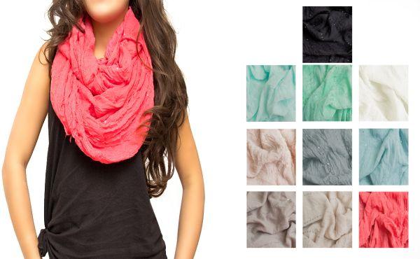 LOVELY SCARF,<br> scarves, fringes,<br>sequins, MIX