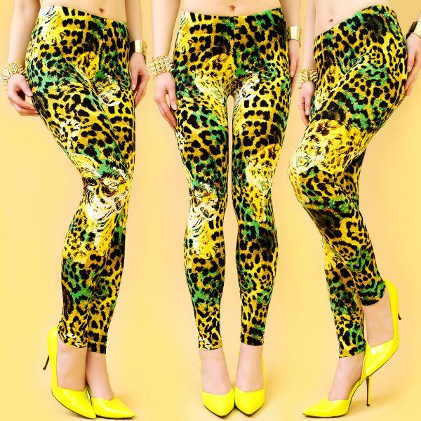 Sexy Leggings,<br>Tiger, Leopard PRINT