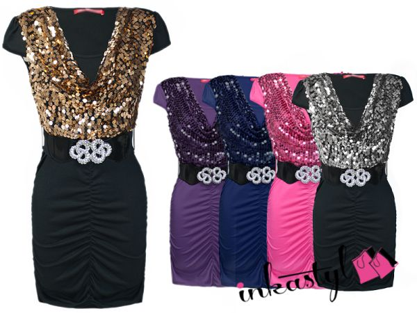 Tunika, KLEID, Pailletten, Timing, MIX