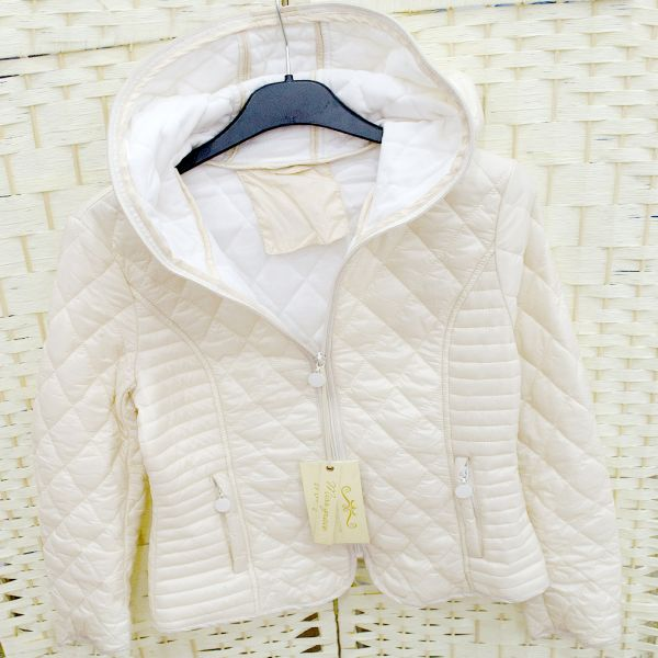 G29190 WOMEN<br> JACKET, Quilted,<br>WITH HOOD