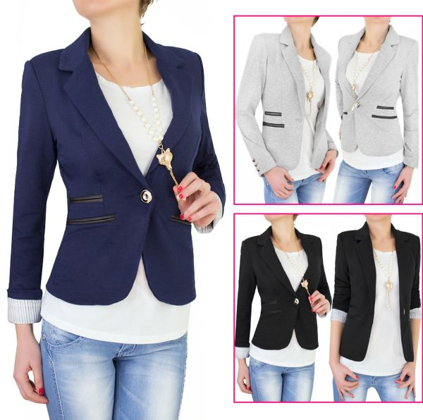 ELEGANT LADIES<br> JACKET, striped<br>lining