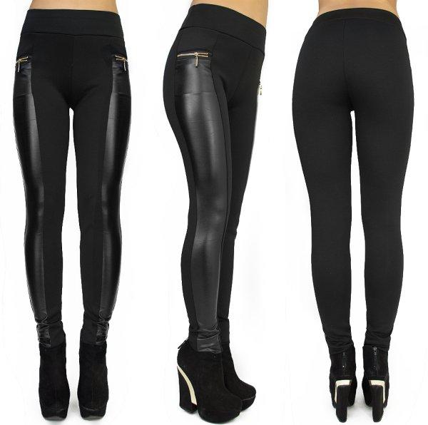BLACK TROUSERS<br>Leggings leggins