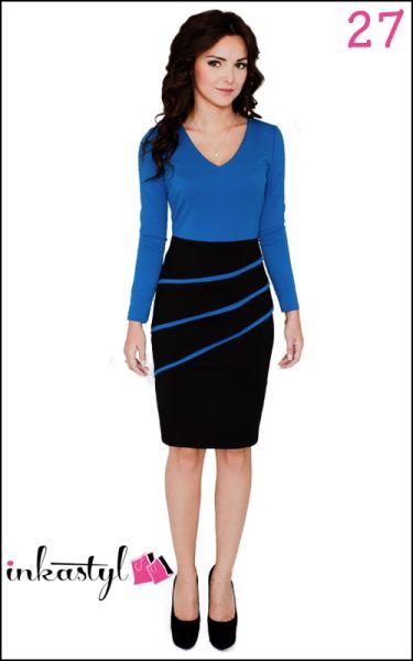 Ausschnitt Kleid<br>Riemen Keil BIAS MIX