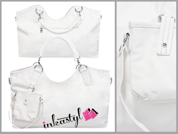 WHITE, LARGE, ELEGANT, BAGS WITH sachet, MIX