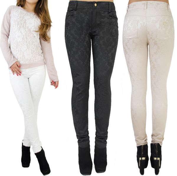 ELEGANT LADIES<br> PANTS, RICH<br>EMBROIDERY