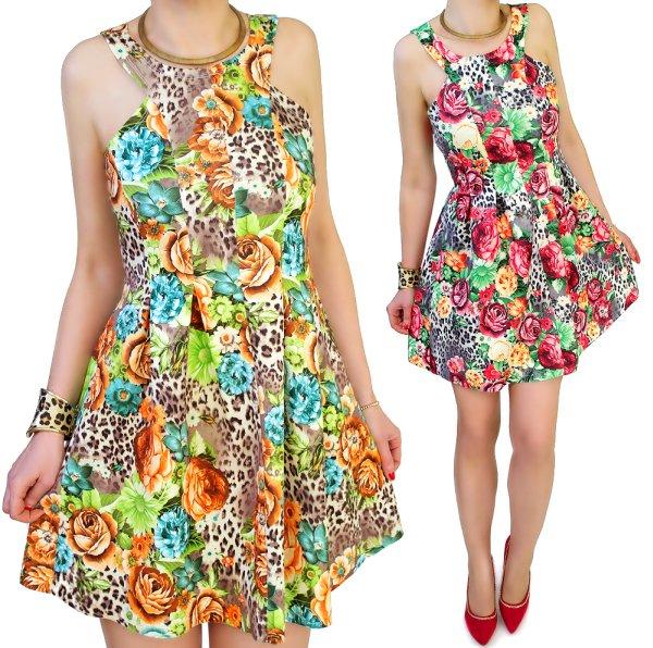 Ausgestelltes<br> Kleid, GREAT<br>INPRINT, 3D-Effekt