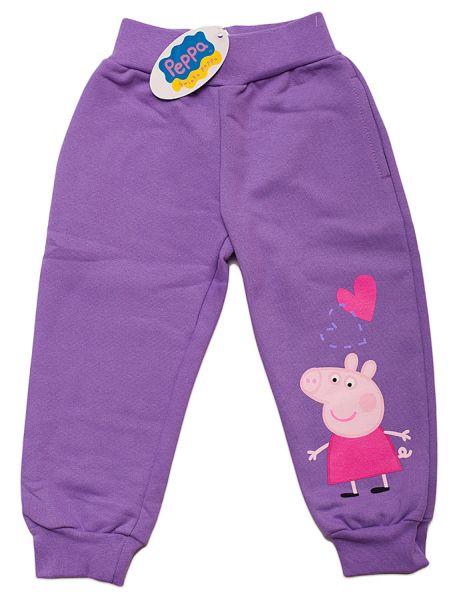 Spodnie<br> dziewczęce, Peppa<br>Piggy.