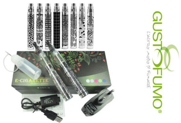 KIT E-CIGARETTE 2 EGO KING 1100 mAh CE4/CE5