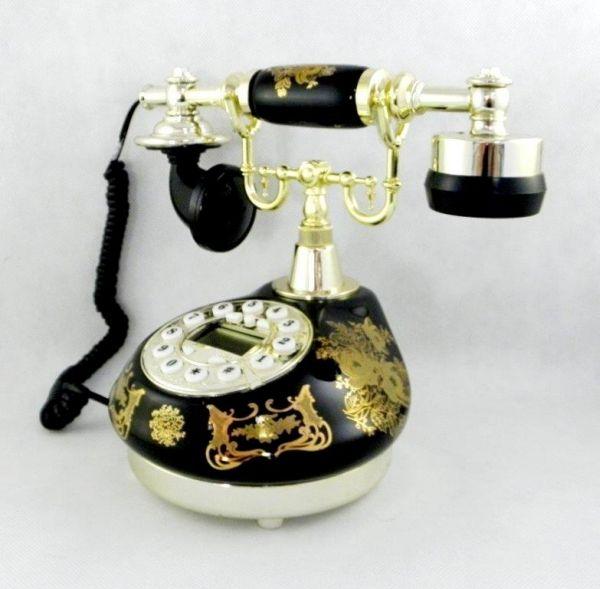 Schnurlose<br> Telefone mit<br>Display Antiquitäten