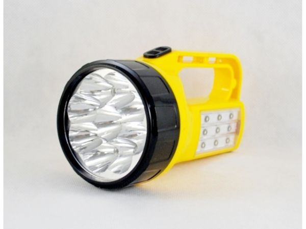9 LED Flashlight +<br>9 led with battery