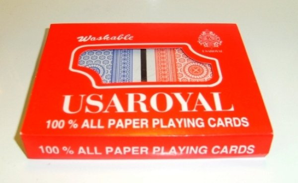 ROYAL playing<br>cards 2 decks