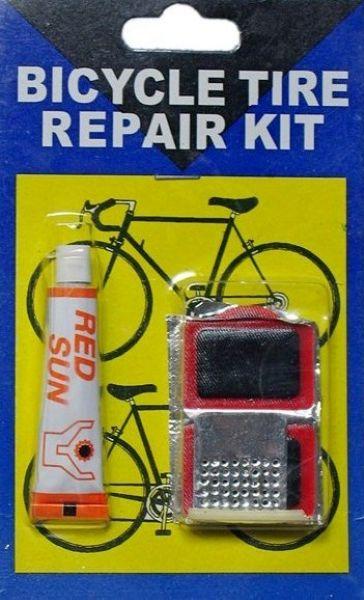 Bicycle inner tube<br>repair kit