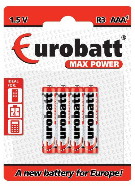 Max Power<br> Batterien R3 -<br>4-tlg.
