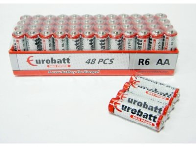 Batteries AA R6<br> Max Power shrink 4<br>pcs