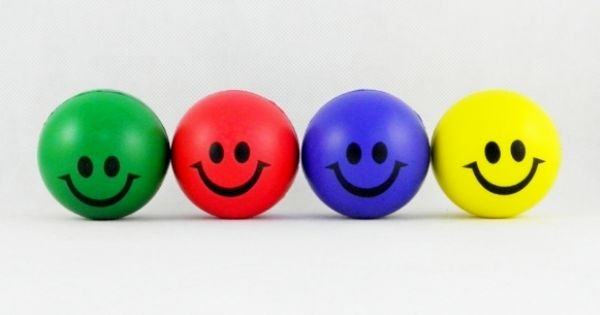 Stress Ball 6.3 cm<br>Mr. Smile