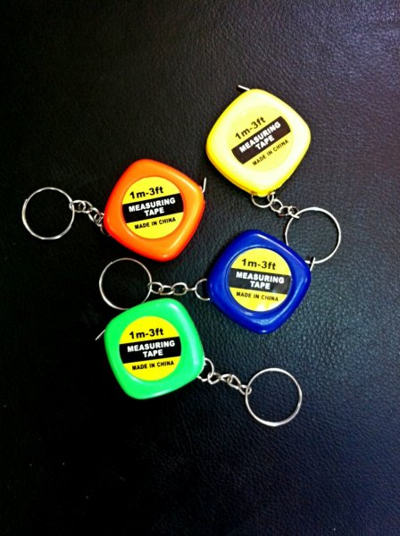 Keychain scoop tape 1m
