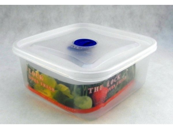 Square food container 4 pcs
