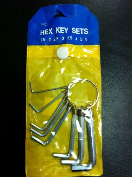 Clé Allen clé hexagonale
