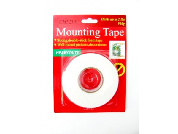 Double-sided<br>mounting tape