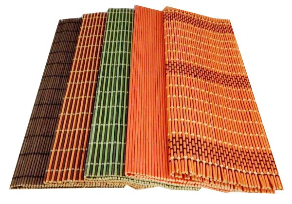 Bamboo-Pads auf<br>den Tisch Rezepturen