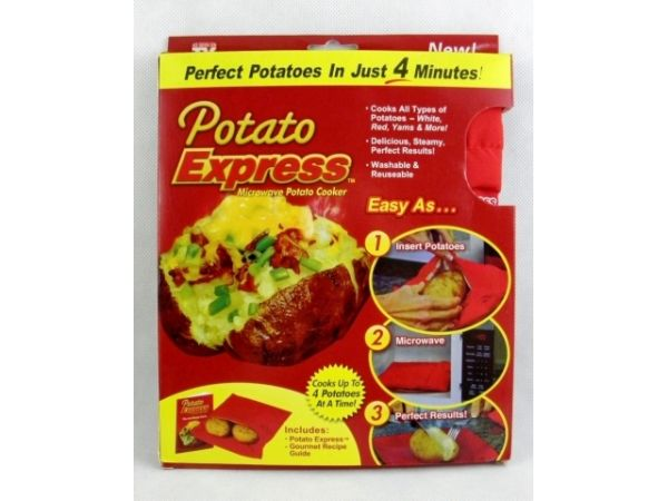 Bag for cooking<br>Potato express