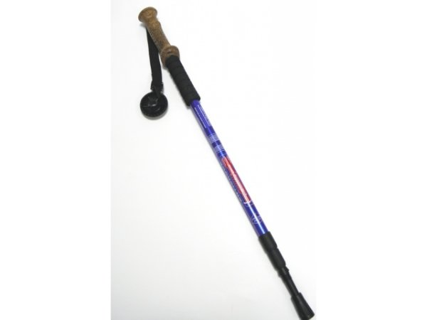 Nordic Walking pole 135 cm 1 piece cork handle