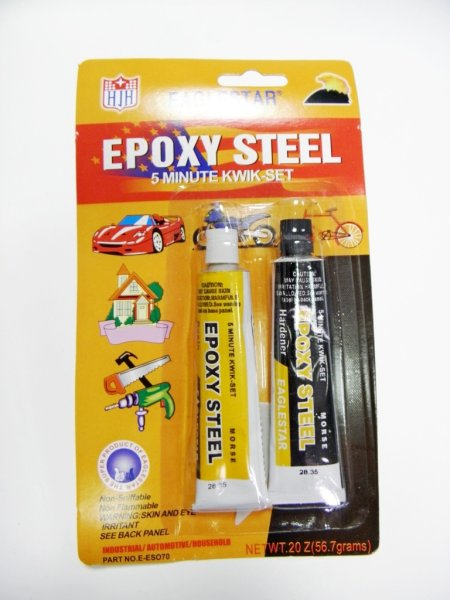 Super Strong<br> two-component<br>adhesive Epoxy