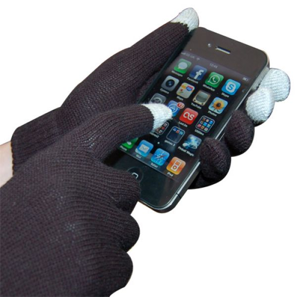 IGlove gloves to<br> handle smartphones<br>black