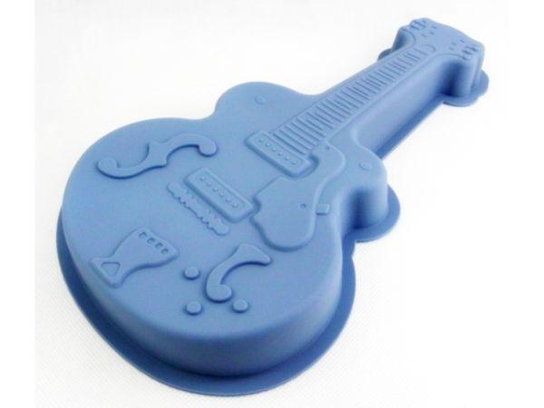 Silicone cake mold<br>32cm guitar