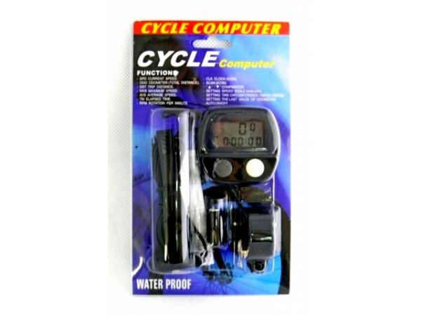 Waterproof LCD Bicycle Computer 14 Function