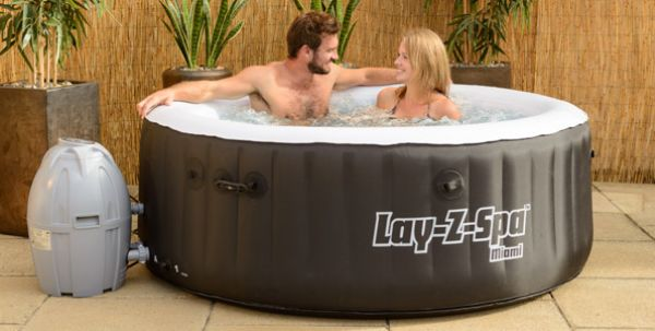 Bestway Lay-Z-Spa<br> Miami Inflatable<br>Hot Tub
