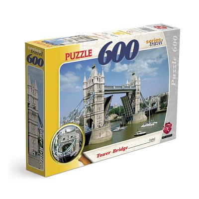 JIGSAW PUZZLE 600 TOWER BRIDGE