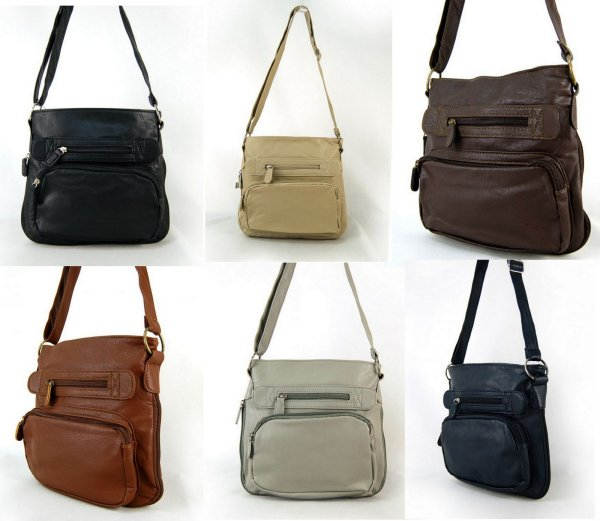 Long adjustable strap bag 6 colors
