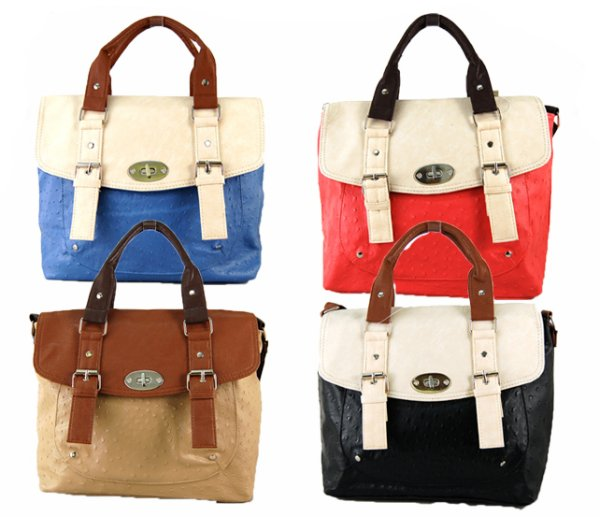 Postwoman Coffer bag - two-color