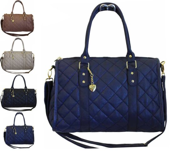 Fashionable quilted trunk adjustable strap model F