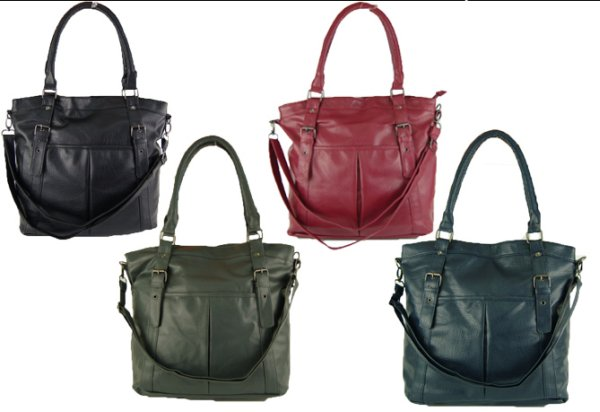 Large ladies handbag shoulder model 2465