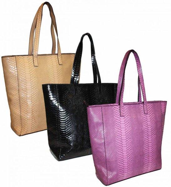 FB73 SNAKE<br> Beautiful Women<br>Shoulder Bag A4