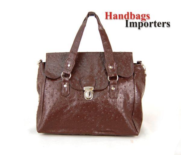 Handtasche<br> Damentaschen Damen<br>Trunk 2450B Brown