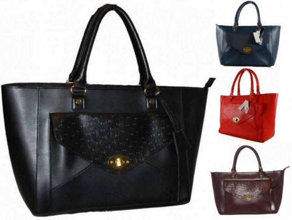 48 elegante große<br> Handtasche Frauen<br>Beutelhand