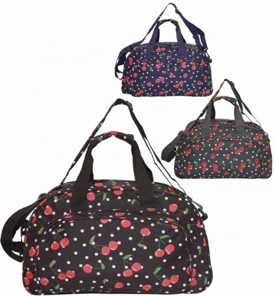 Cherries SB31<br> Travel Bag Hand<br>Bag Tote