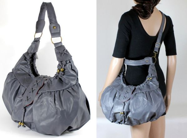 Roomy Handbag Shoulder long strap Model 0753