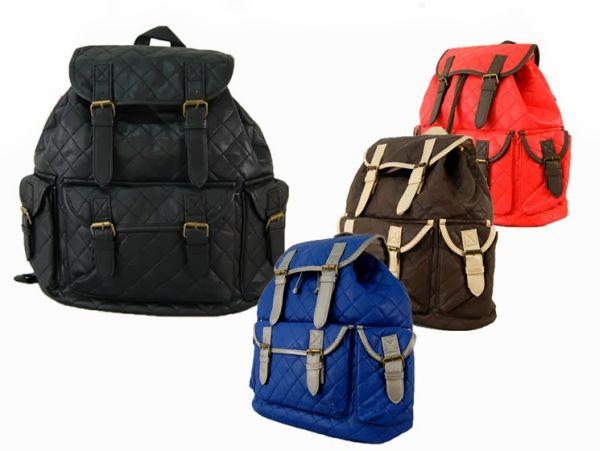 Modische Elegante<br> Damen Stepp<br>Rucksack FB25 Farben