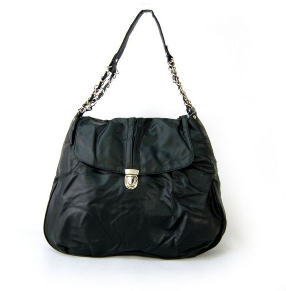 2392 BLACK Handbag<br> Shoulder Bag Damsa<br>Women
