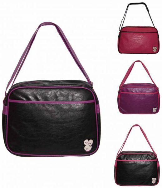 Eule Handtasche<br> Frauen Jugend<br>Große A4 Schulter