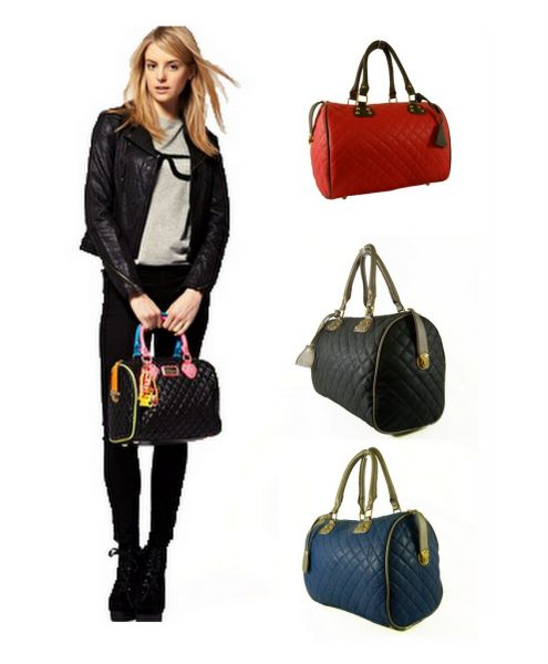 FB06 Purse Quilted<br> Handbags Trunk Hit<br>Mix